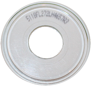 A number on a CD-R